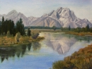Oxbow and Mount Moran              ***SOLD***